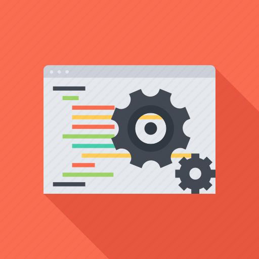 code, optimization, program, programming, seo, site, web icon