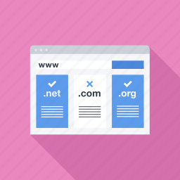 domain, name, registration, seo, site, web icon