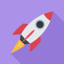 flight, fly, mission, rocket, space, spaceship icon
