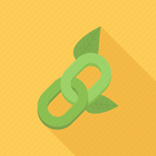 link, links, natural, plant, seo icon