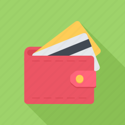 card, cards, credit card, method, payment, purse icon