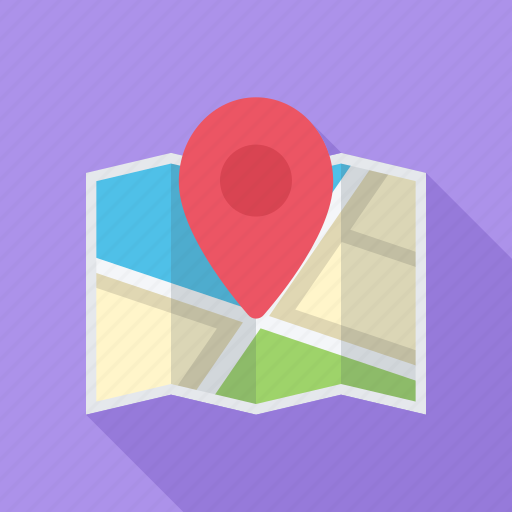 location, map, optimization, pin, place icon