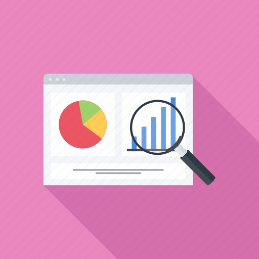 analytics, graph, monitoring, seo, statistics icon