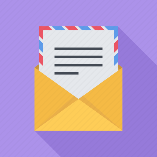 emails, envelope, mail, message, sending icon