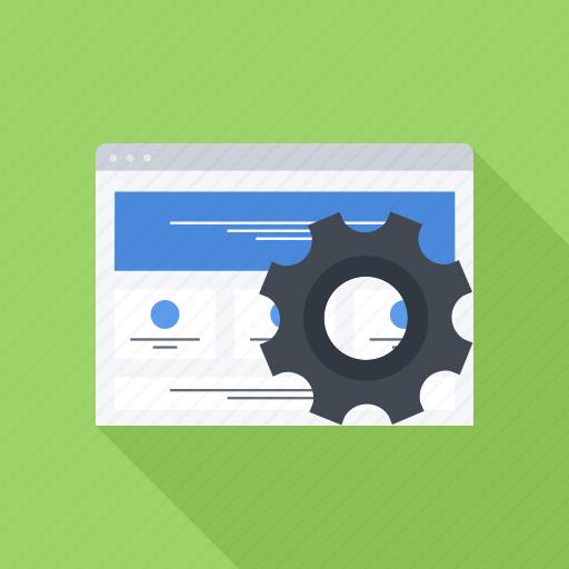 optimization, page, seo, site, web icon