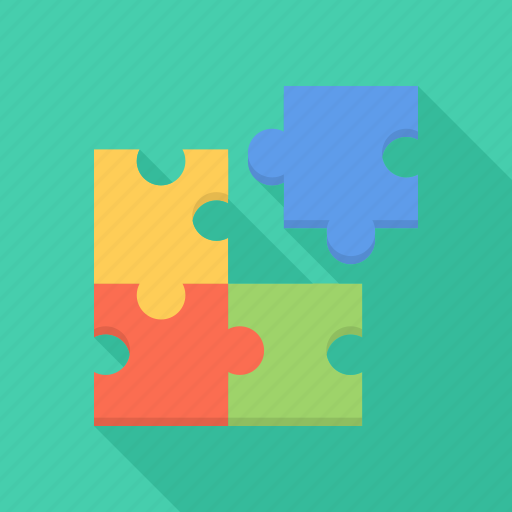 company, puzzle, seo, structure icon