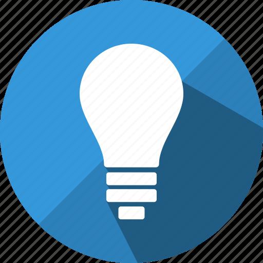 bulb, creative, design, electric, electricity, lamp, light icon