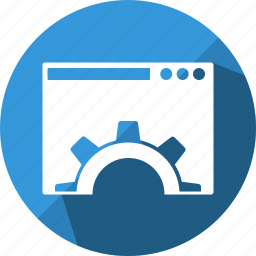 engine, optimization, seo, web, website icon