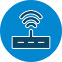 internet signals, modem, router, wifi icon