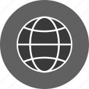 earth, globe, site, www icon