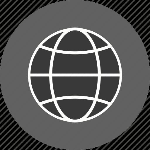 earth, globe, site, www icon