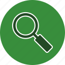 find, magnifying glass, search icon