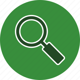 find, glass, look, magnifying, search, seek, zoom icon