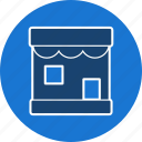 cafe, front, market, retail, shop, store icon