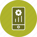 mobile marketing, programing, setting, settings icon