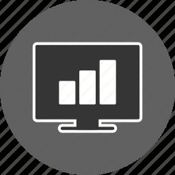 bar, chart, graph, stats icon