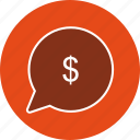 business, dollar, send, transfer icon