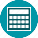calculation, calculator, economy, mathematics, maths icon
