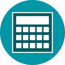 calculation, calculator, mathematics icon