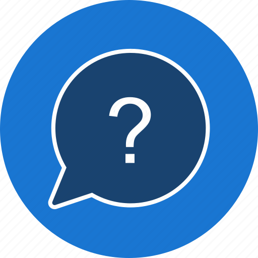 ask, help, mark, question, speech icon