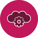 cloud, cloud settings, server, settings icon