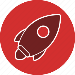 launch, rocket, spaceship icon