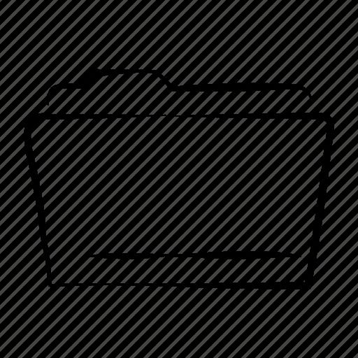 archive, data, document, folder, hand drawn icon