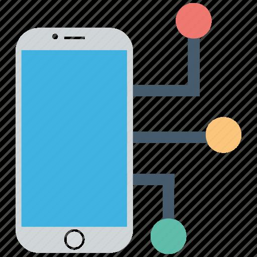 connect, mobile, seo icon