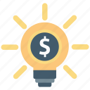 idea, money, seo icon