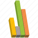 bar, chart, elements, graph, visualization icon
