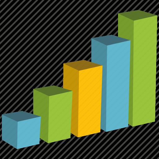 bar, chart, elements, graph, visualization icon
