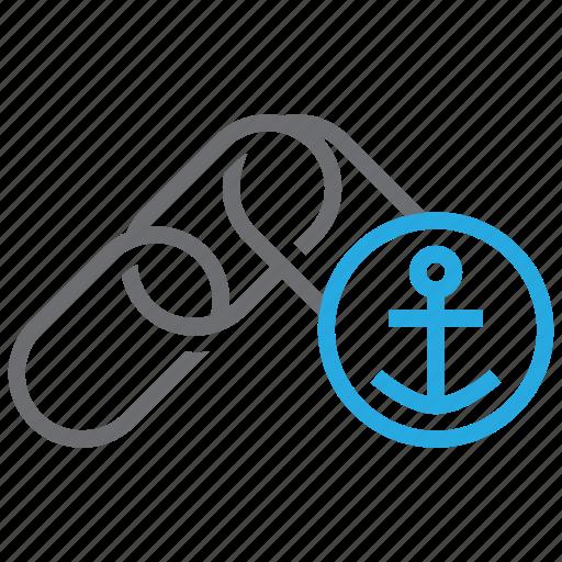anchor, connect, link, seo, text, url, web icon