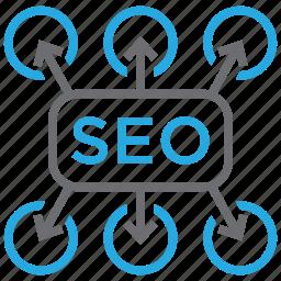 business, marketing, optimization, plan, planning, seo, solution icon