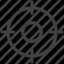 aim, bullseye, dart, focus, goal, target icon