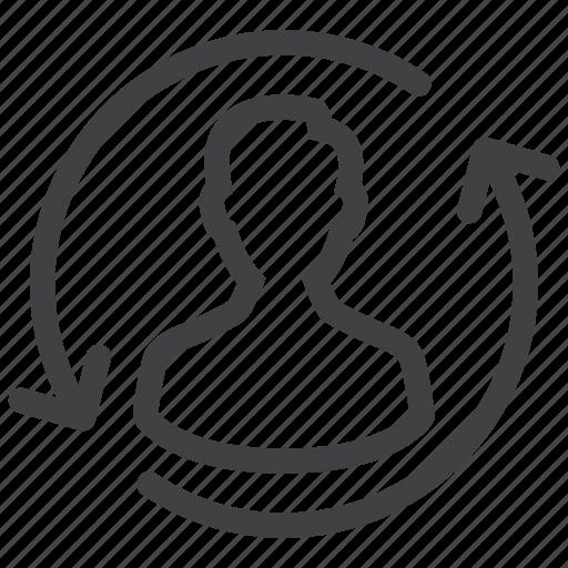 avatar, profile, update, user icon