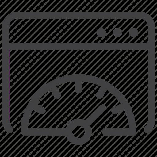 Speed, website, browser, web icon - Download on Iconfinder