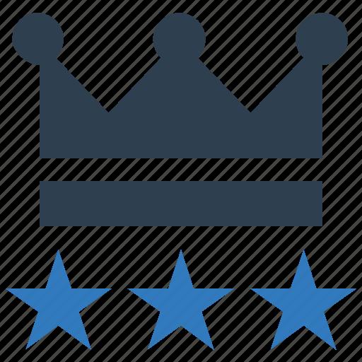 crown, empire, king, premium, rating, reward, star icon