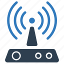 devices, internet, modem, network, wifi, wifi device, wireless icon