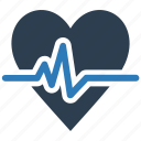 cardiogram, heart care, heart health, heartbeat, pulse icon