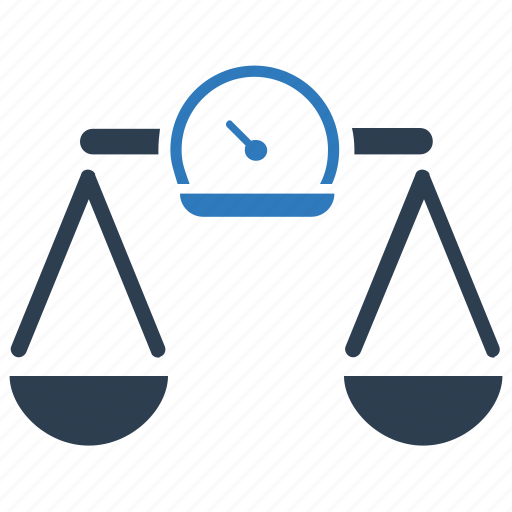 balance, justice, law, scale, scale monitoring, sport, weight icon