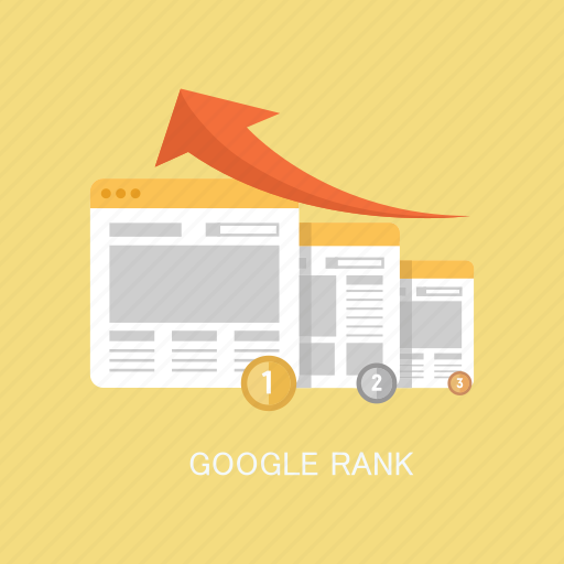 advertising, concepts, google, internet, marketing, rank, seo icon