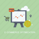 concepts, e-commerce, internet, marketing, optimization, seo, statistic icon