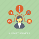 marketing, support, concepts, operator, services, internet, seo