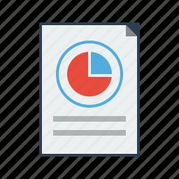 analysis, analytics, chart, market share, pie, report, survey icon