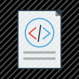 code, coder, coding, development, html, source code, website code icon