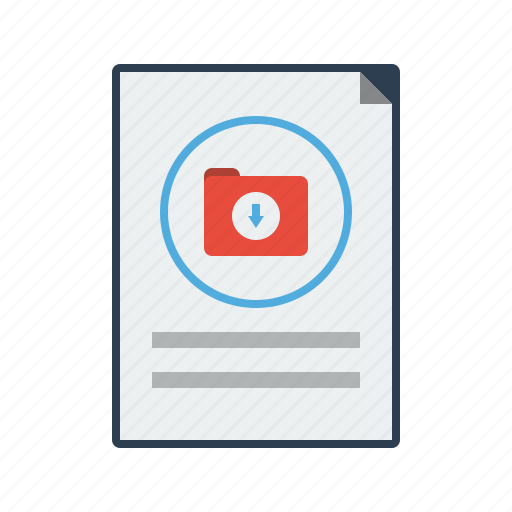 data, download, downloading, file, folder, network, server icon