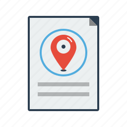 address, direction, listing, location, map, market, pointer icon