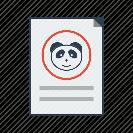 algorithm, content, content marketing, google update, panda, update icon