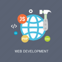 concepts, development, internet, language, marketing, seo, web icon
