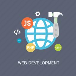 concepts, development, internet, language, marketing, seo, web icon